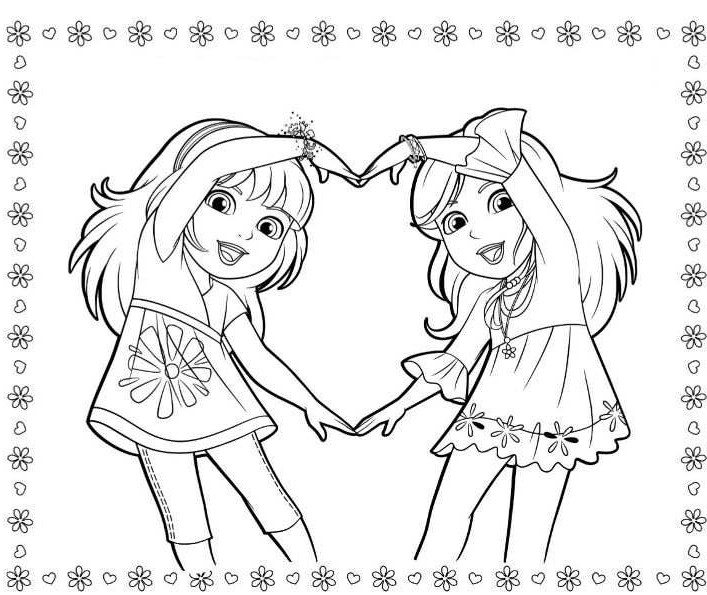 coloring pages dora and friends dora and friends coloring pages to download and print for free friends coloring and pages dora