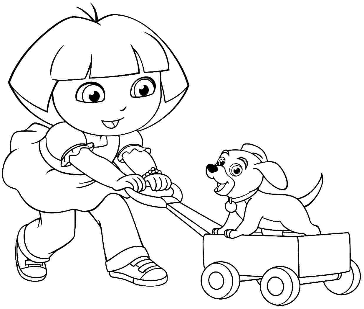 coloring pages dora and friends dora and friends coloring pages to download and print for free pages dora and friends coloring