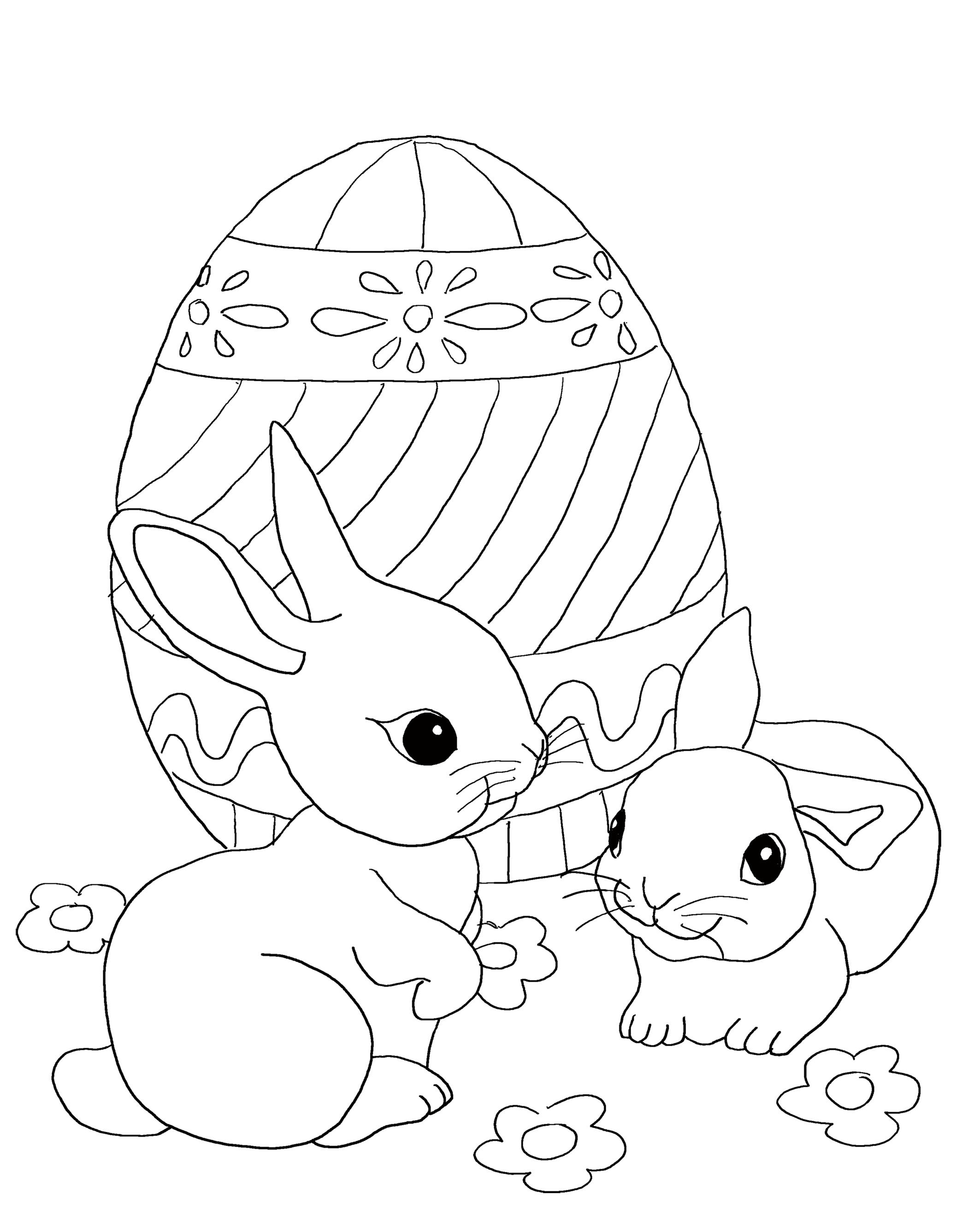 coloring pages easter free easter coloring pages for kids high printing quality easter coloring pages