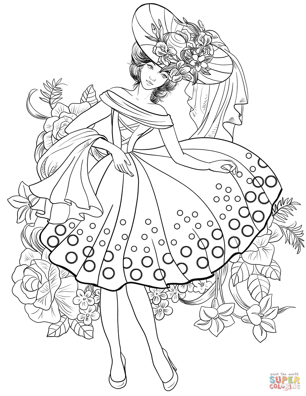 coloring pages fashion historical fashion coloring pages free printable coloring fashion pages