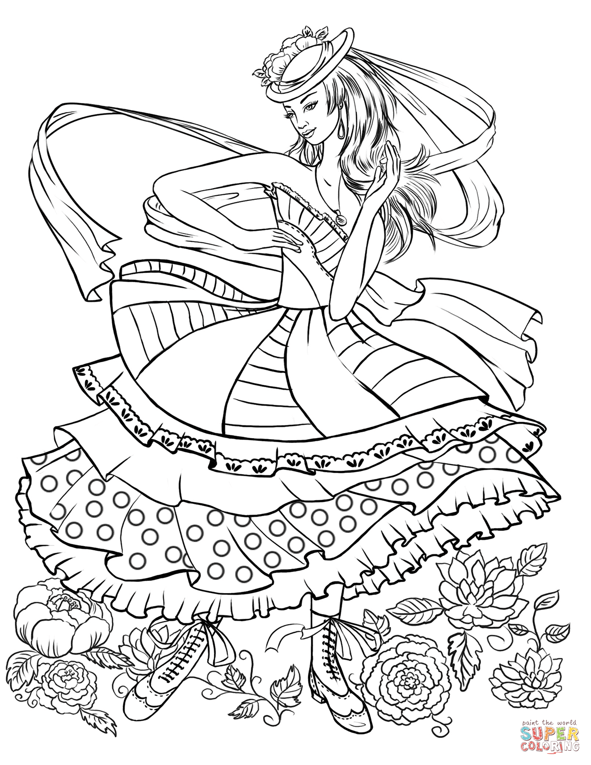 coloring pages fashion printable coloring pages of fashion clothing coloring home coloring pages fashion