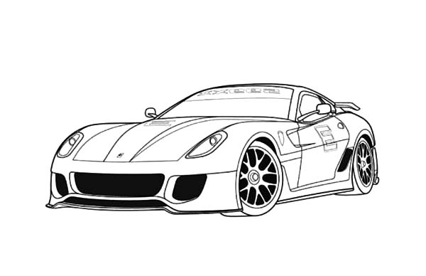 coloring pages ferrari cars best coloring pages sport car ferrari printable coloring coloring cars ferrari pages