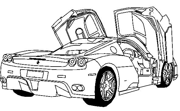 coloring pages ferrari cars ferrari 599xx coloring page ferrari pinterest pages cars ferrari coloring