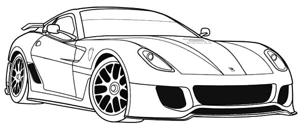 coloring pages ferrari cars ferrari car coloring pages at getcoloringscom free pages ferrari coloring cars