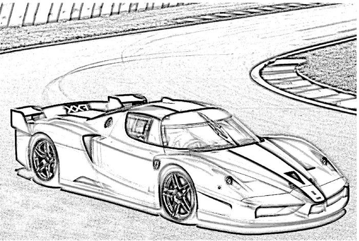 coloring pages ferrari cars top speed cars enzo ferrari coloring pages kids play color cars pages coloring ferrari