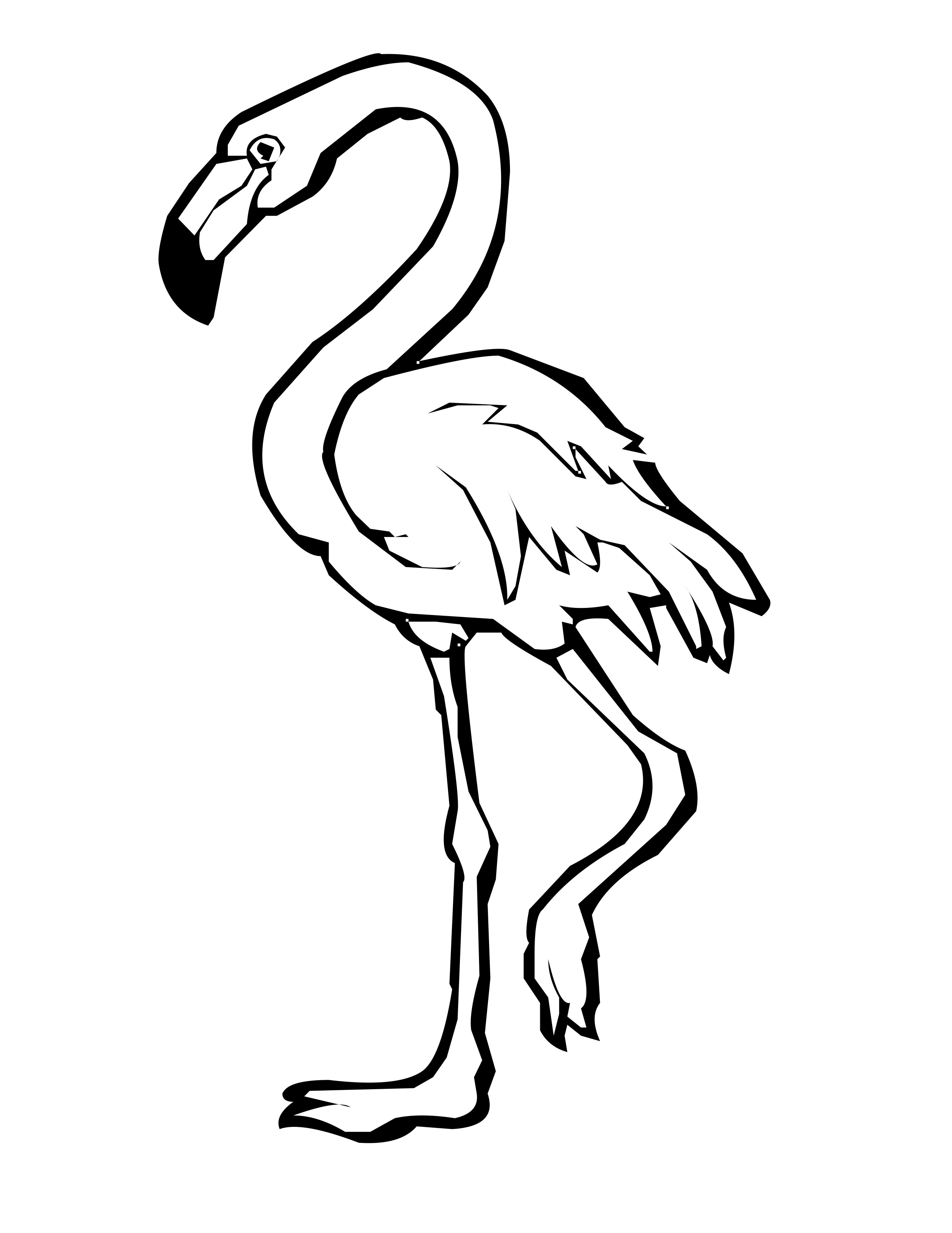 coloring pages flamingo flamingo coloring pages to download and print for free coloring flamingo pages
