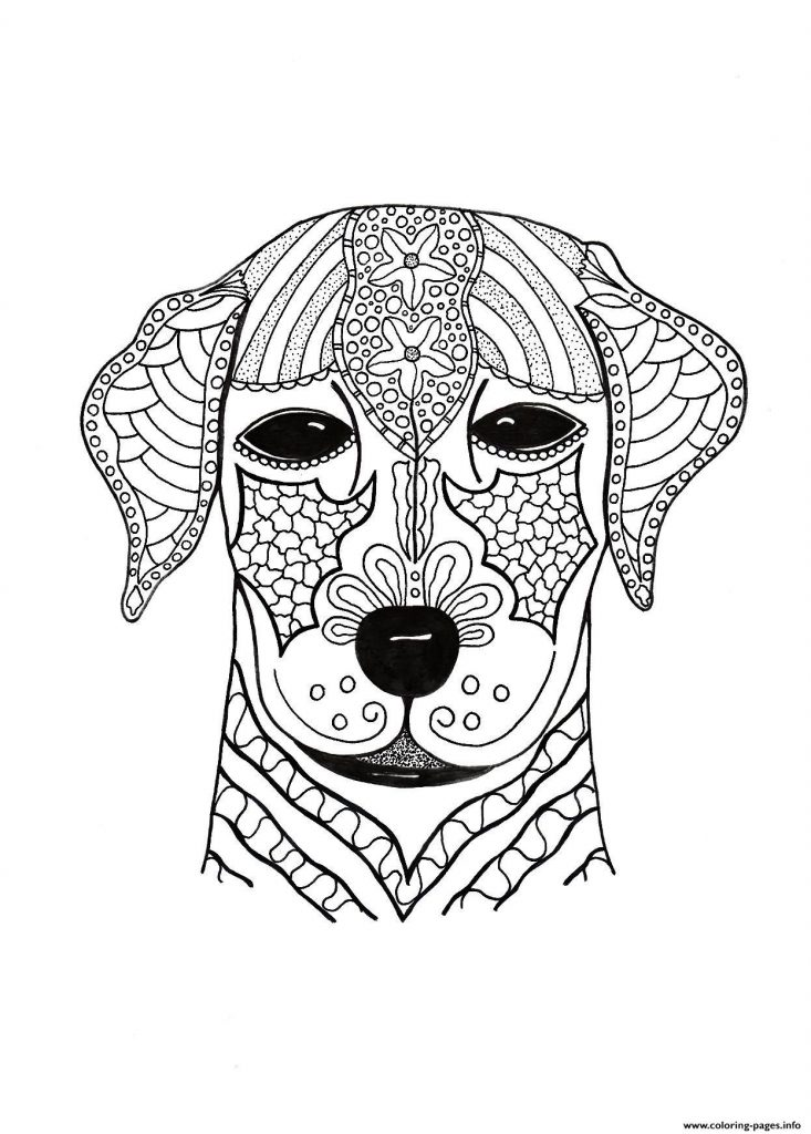 coloring pages for adults dogs creative haven dazzling dogs coloring book by marjorie for coloring dogs adults pages