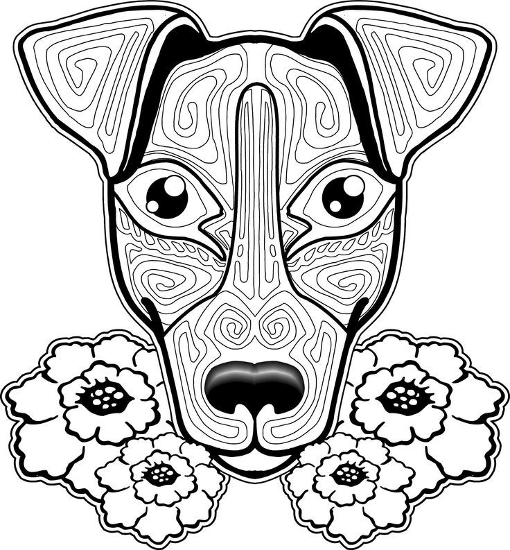 coloring pages for adults dogs dog coloring pages for adults at getdrawings free download coloring pages for adults dogs