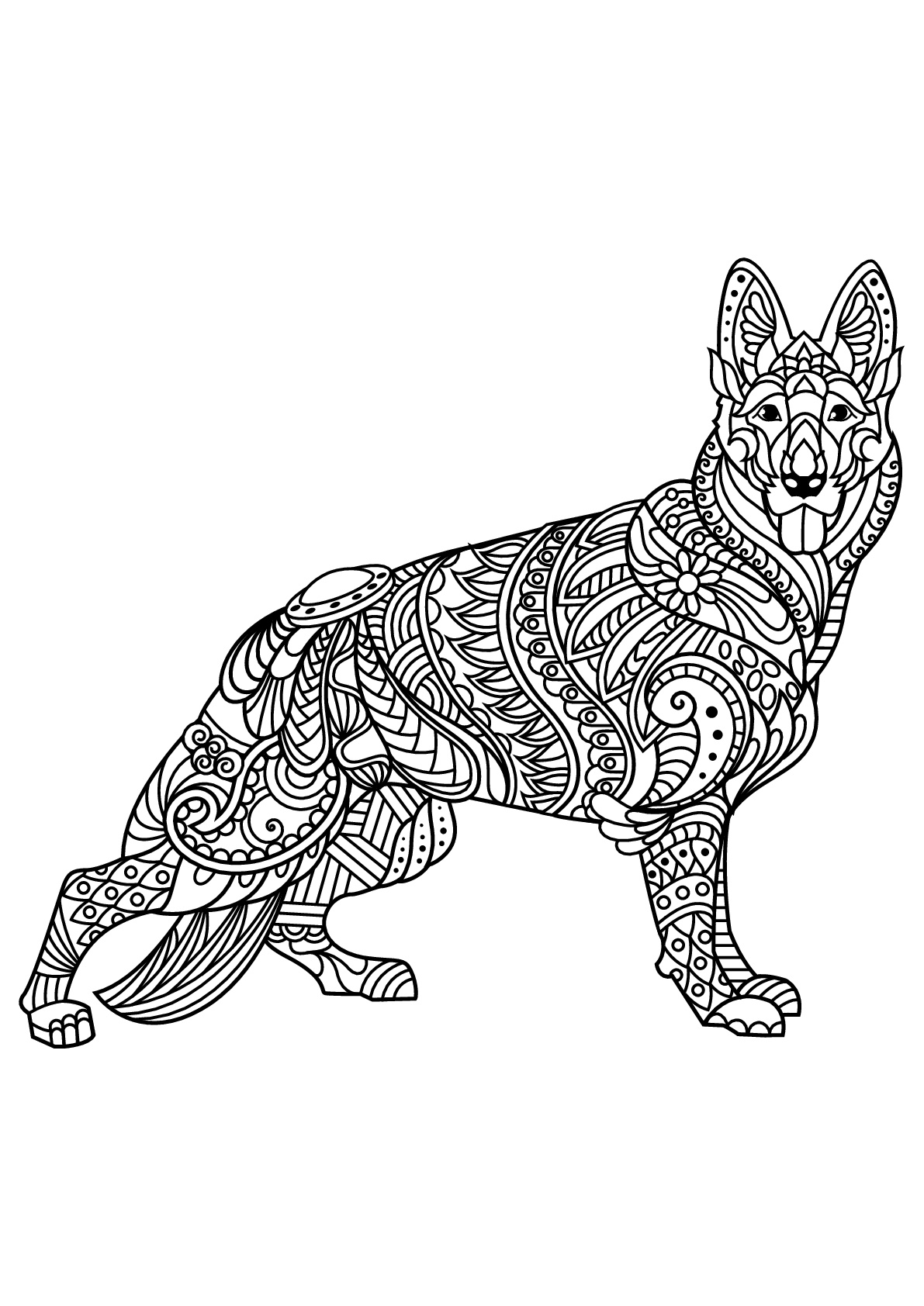 coloring pages for adults dogs dog coloring pages for adults best coloring pages for kids pages for coloring adults dogs