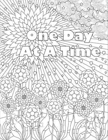 coloring pages for adults in recovery amazoncom the recovery coloring book volume 2 with adults for in recovery coloring pages