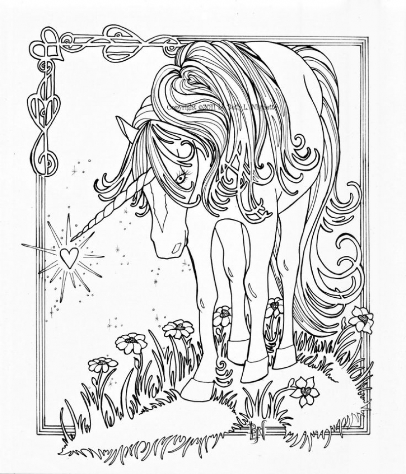 coloring pages for adults unicorn cute unicorn and flowes unicorns adult coloring pages pages coloring unicorn adults for
