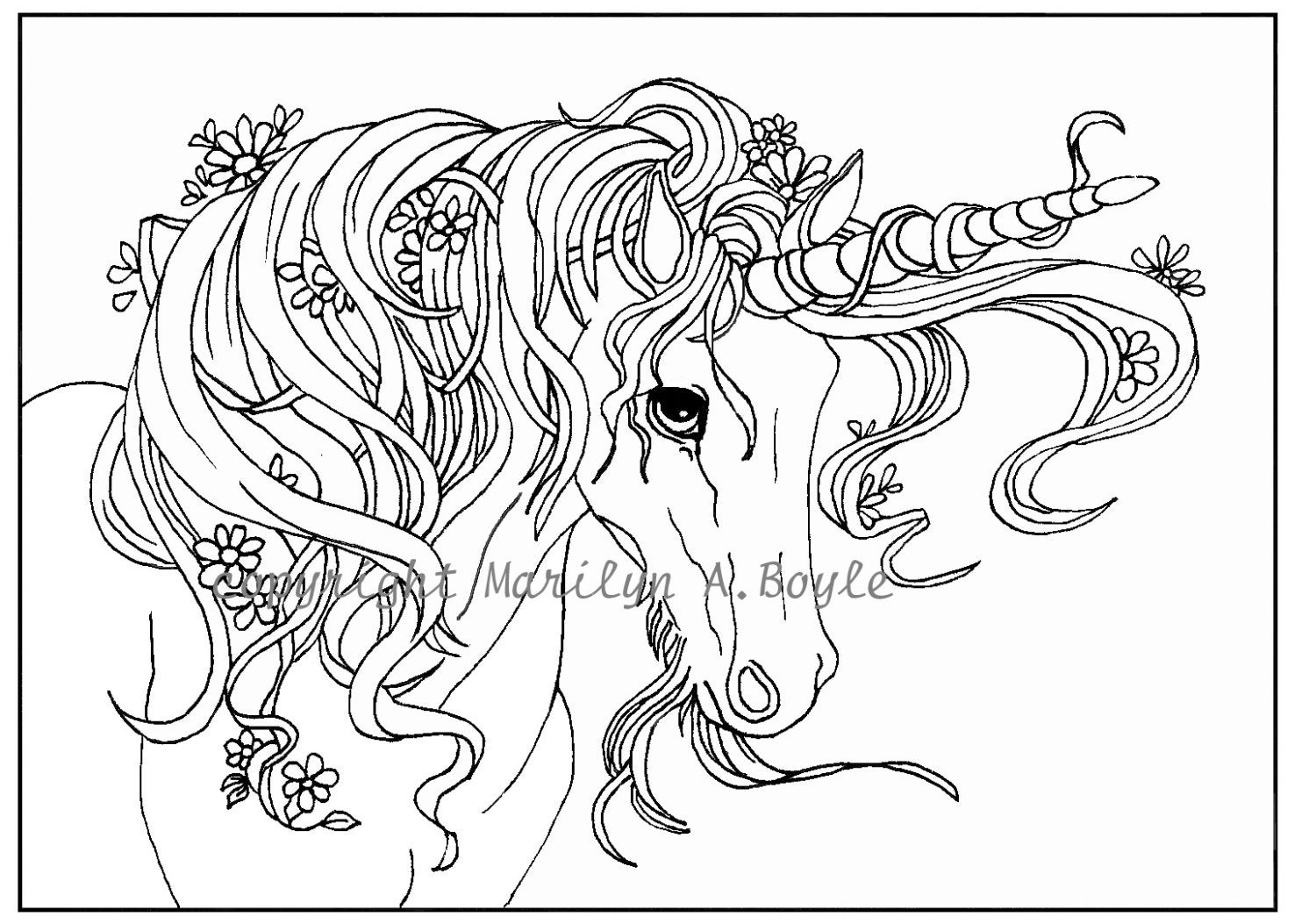 coloring pages for adults unicorn get this free printable unicorn coloring pages for adults for pages unicorn coloring adults 1 1
