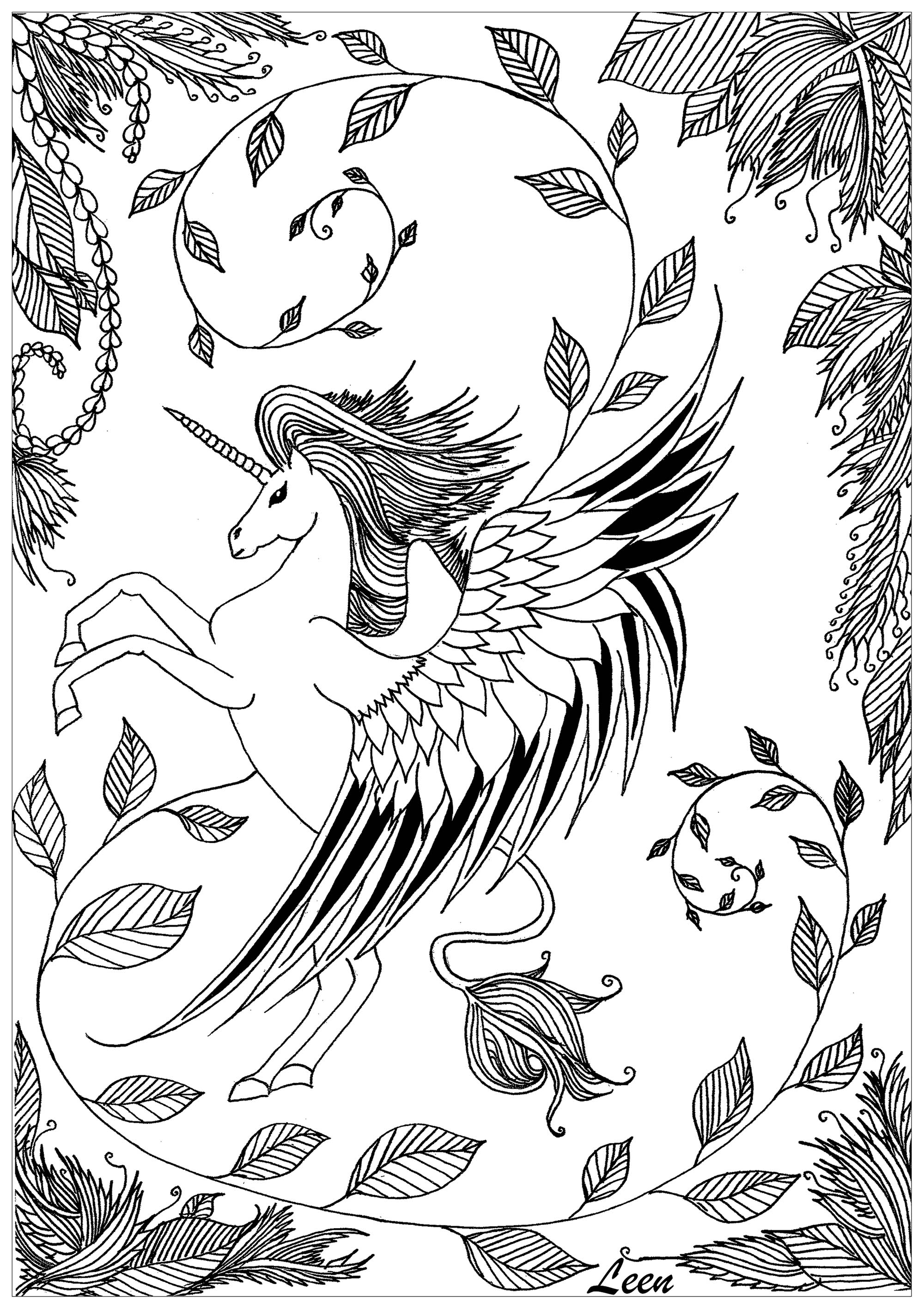 coloring pages for adults unicorn leen margot unicorn unicorns adult coloring pages pages for unicorn adults coloring
