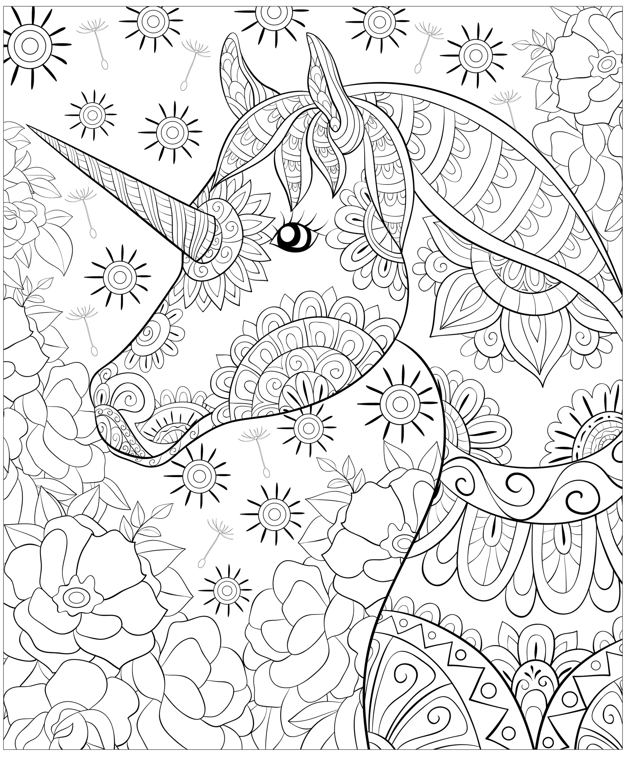 coloring pages for adults unicorn unicorn coloring pages coloringrocks pages coloring for adults unicorn