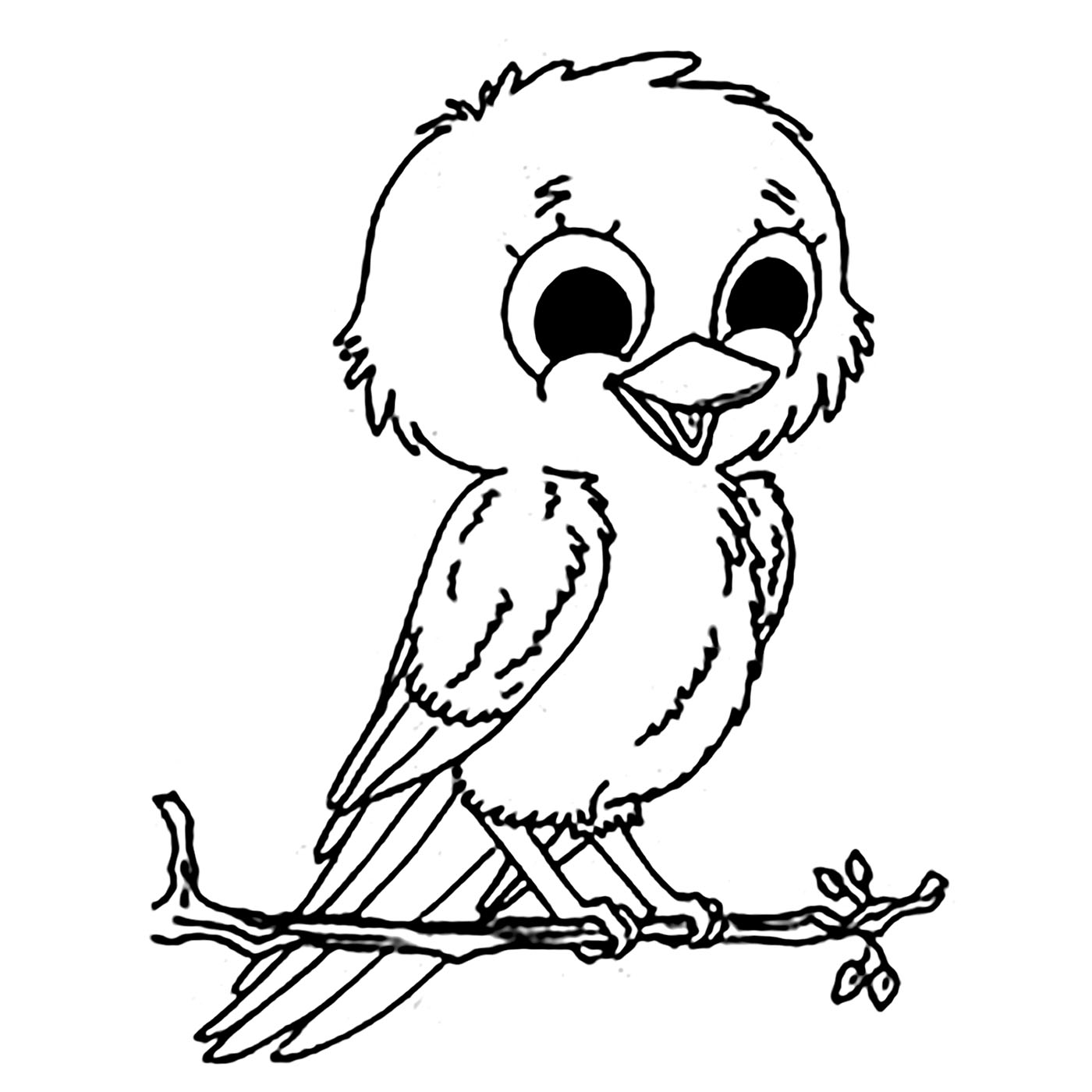 coloring pages for kids birds baby sparrow birds coloring pages coloring pages bird kids pages birds coloring for