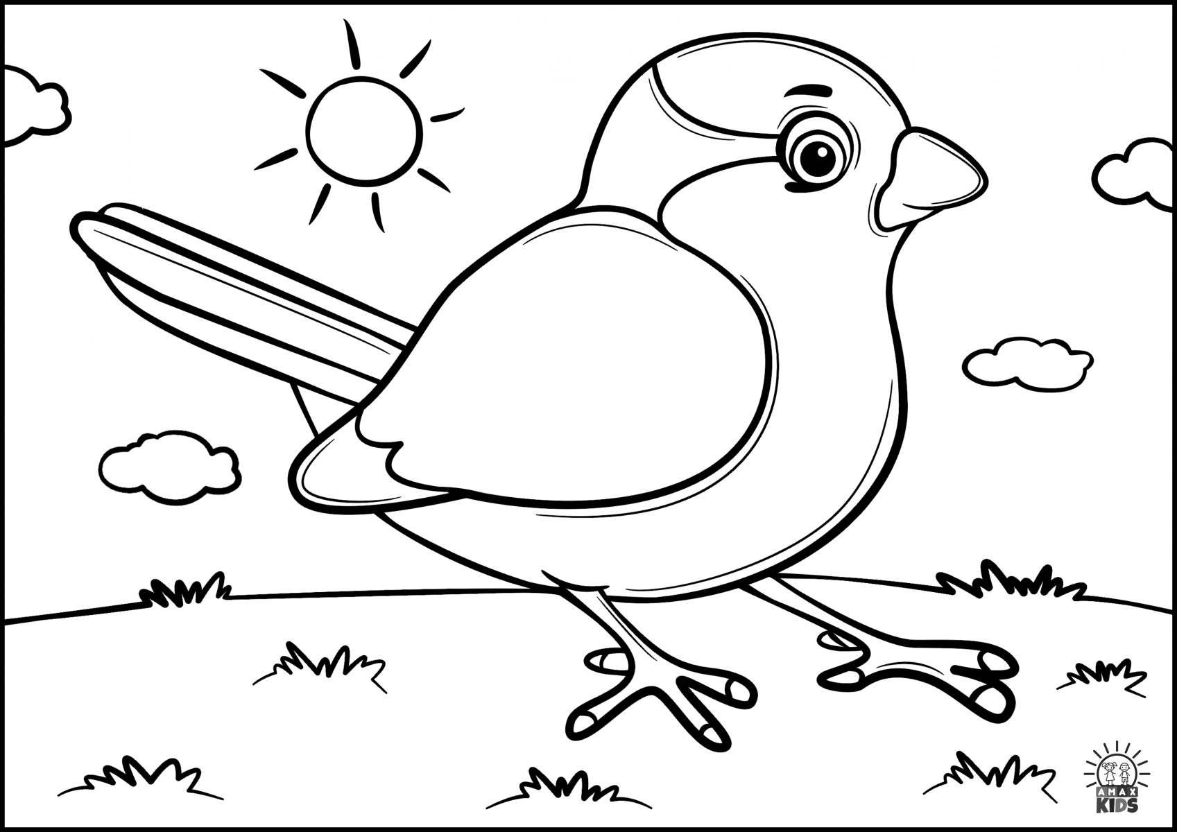 coloring pages for kids birds coloring pages for kids with birds amax kids for birds kids coloring pages