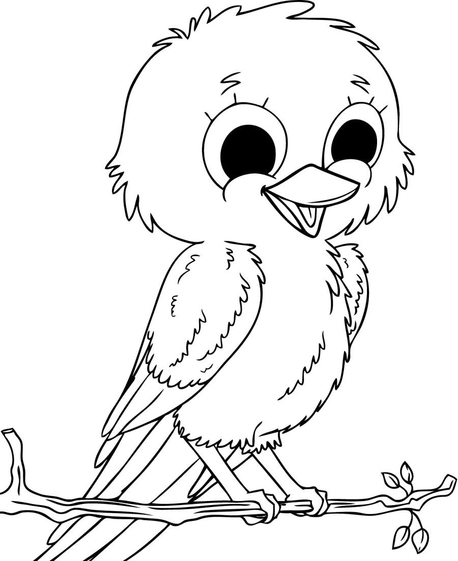 coloring pages for kids birds cute bird coloring page woo jr kids activities pages for kids birds coloring