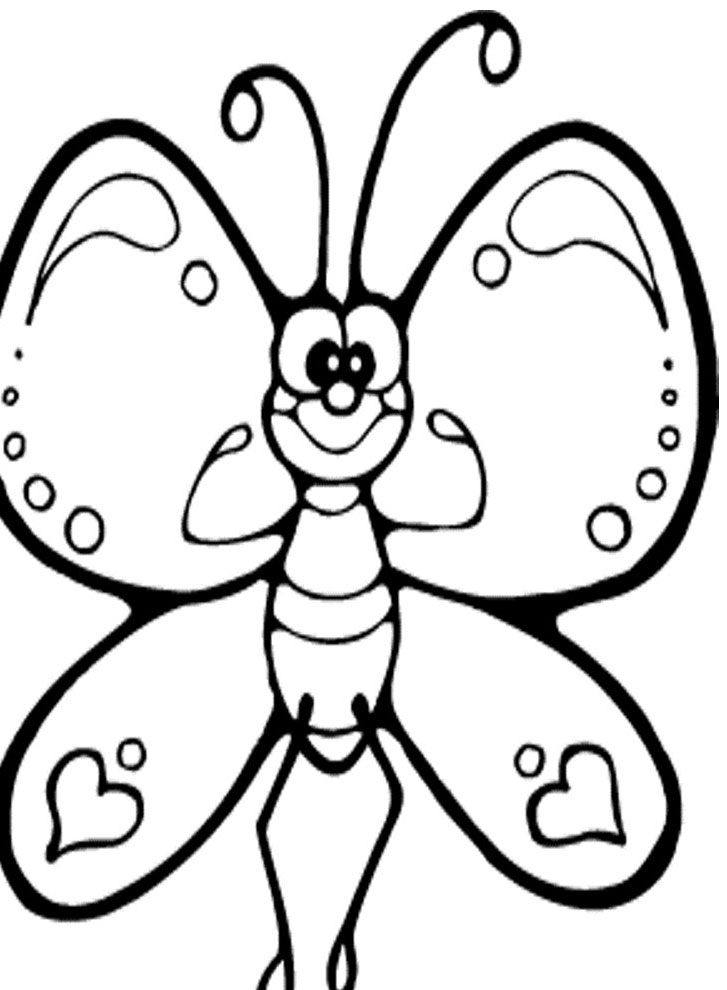 coloring pages for kids butterfly butterfly coloring pages free to download kids butterfly for pages coloring