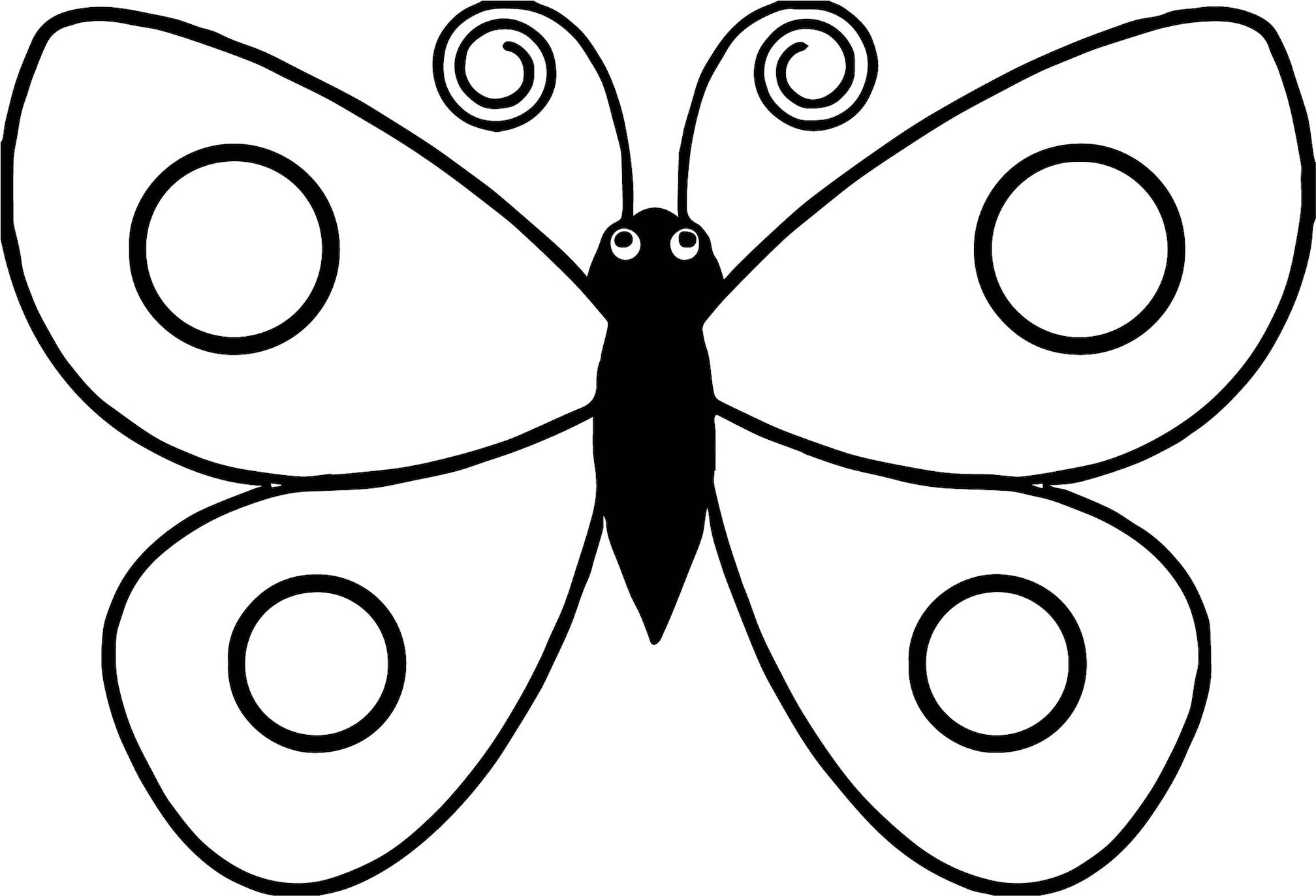 coloring pages for kids butterfly butterfly coloring pages nice for kids printable free butterfly for kids coloring pages