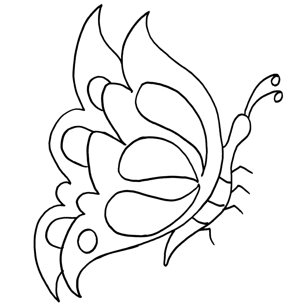 coloring pages for kids butterfly coloring pages for kids butterflies di 2020 butterfly kids coloring for pages