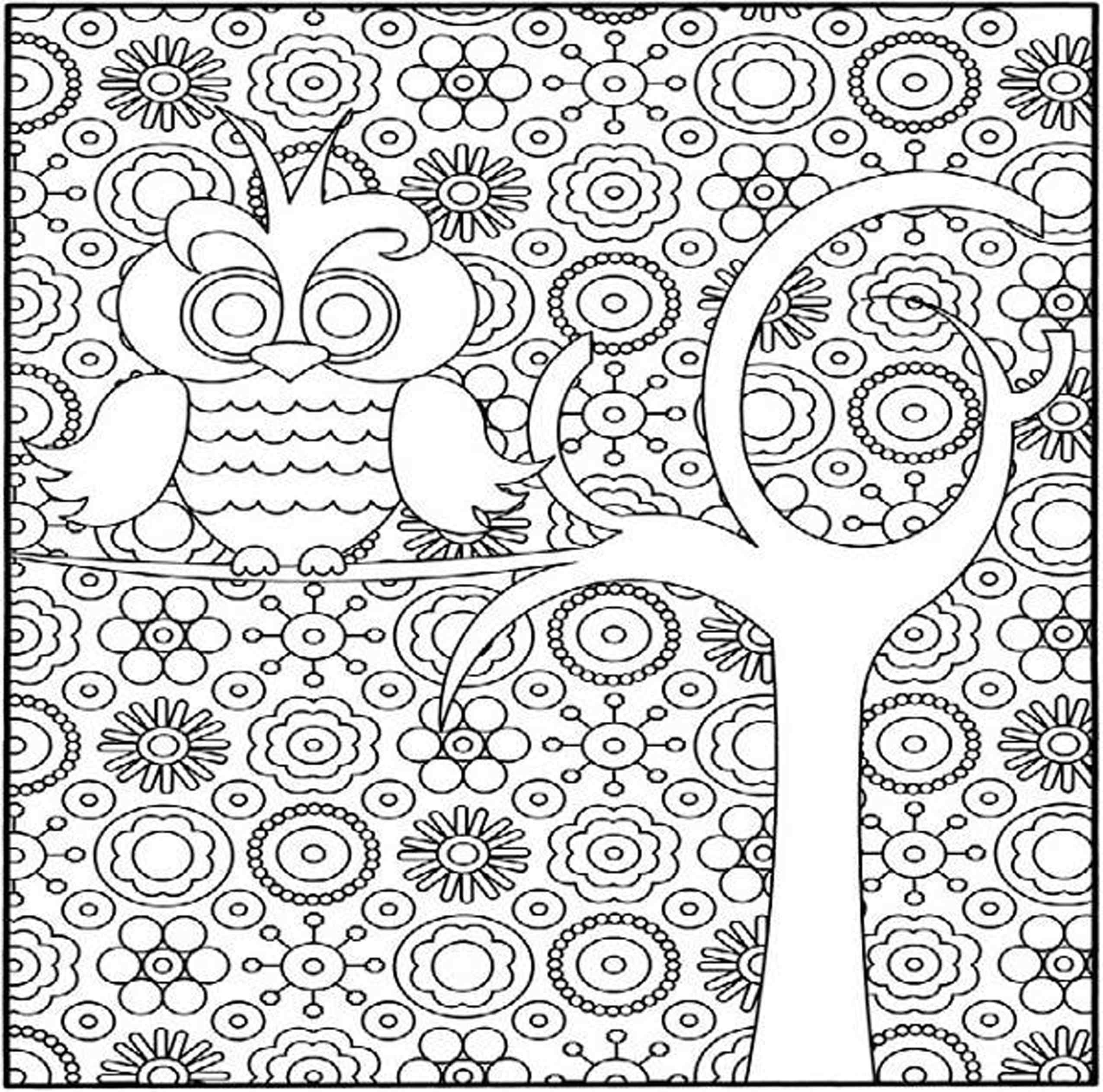 coloring pages for kids hard animorphia owls hard coloring pages hard coloring pages kids hard pages for coloring