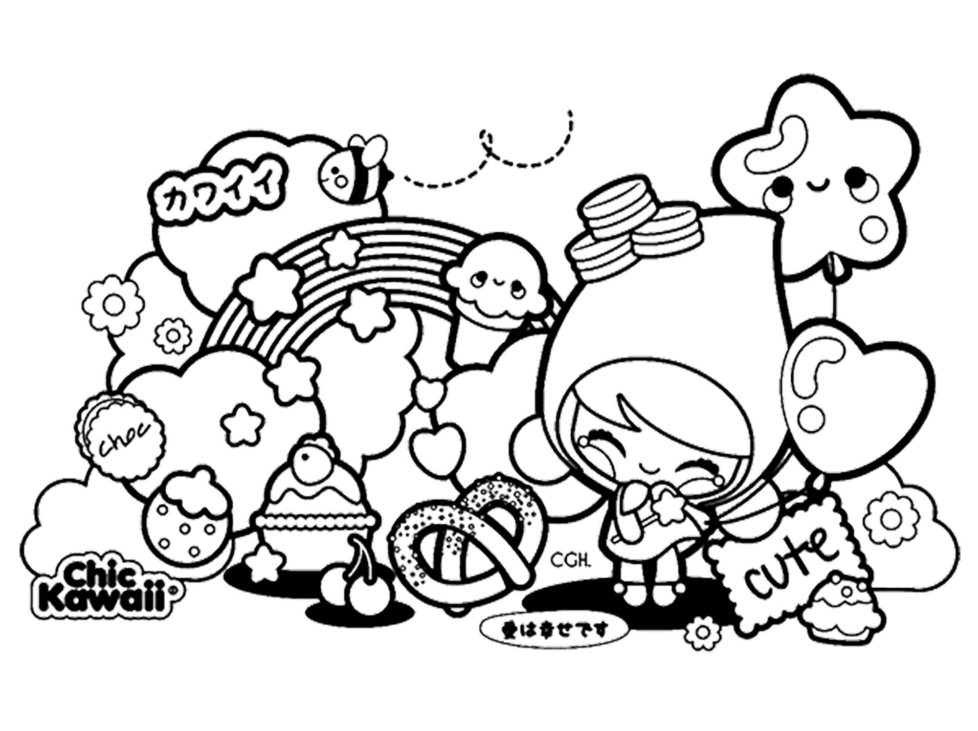 coloring pages for kids kawaii cute coloring pages best coloring pages for kids pages kids kawaii for coloring