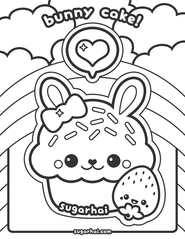 coloring pages for kids kawaii monsters doodle coloring page printable cutekawaii coloring kids for coloring pages kawaii