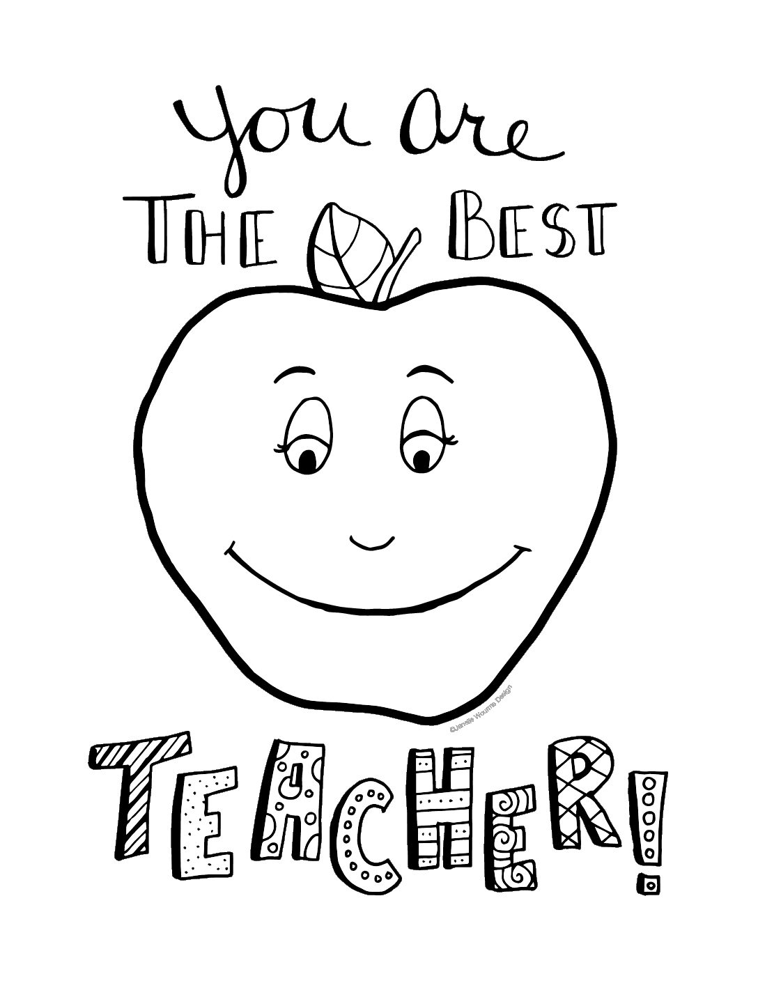 coloring pages for teachers appreciation teacher appreciation coloring pages at getdrawings free pages teachers for appreciation coloring