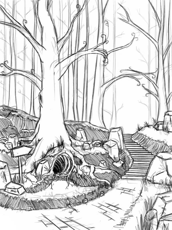 coloring pages forest deer fantasy forest coloring page digital art by crista forest forest coloring pages