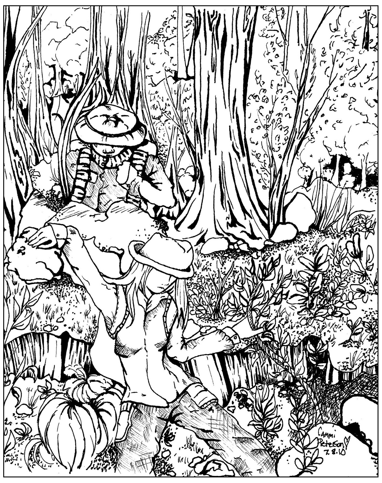 coloring pages forest forest coloring pages download and print forest coloring forest coloring pages