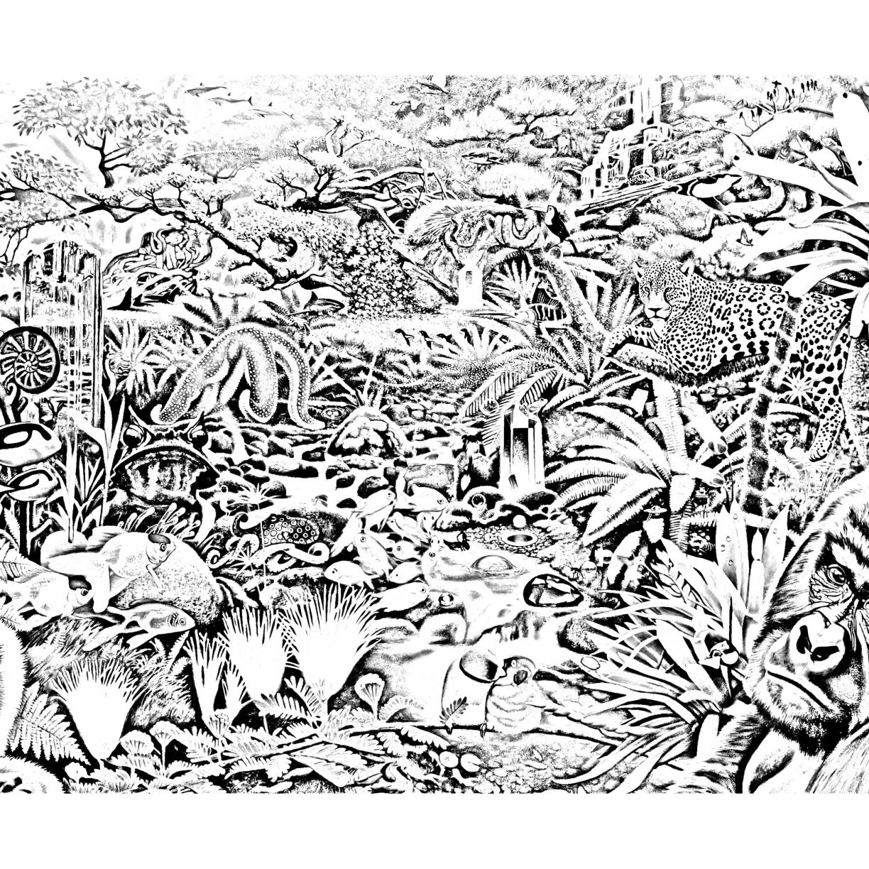 coloring pages forest forest coloring pages to download and print for free coloring forest pages