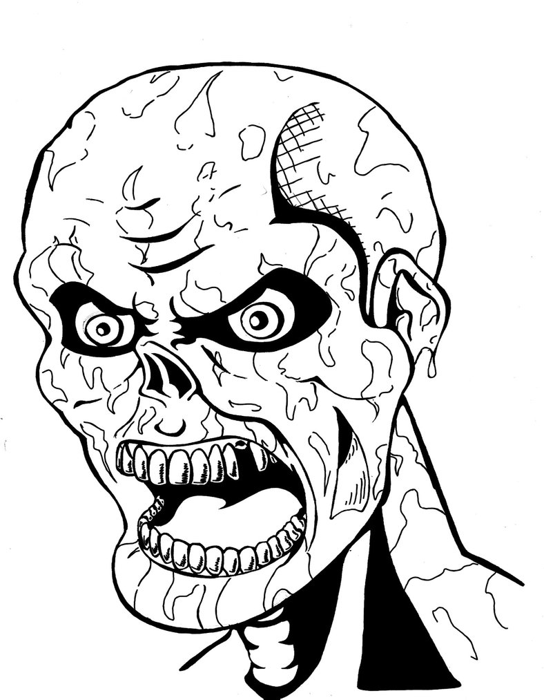coloring pages halloween scary halloween scary masks coloring pages coloring home scary coloring pages halloween