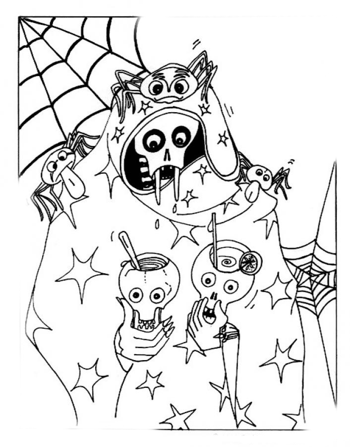 coloring pages halloween scary halloween scary masks coloring pages coloring home scary halloween pages coloring