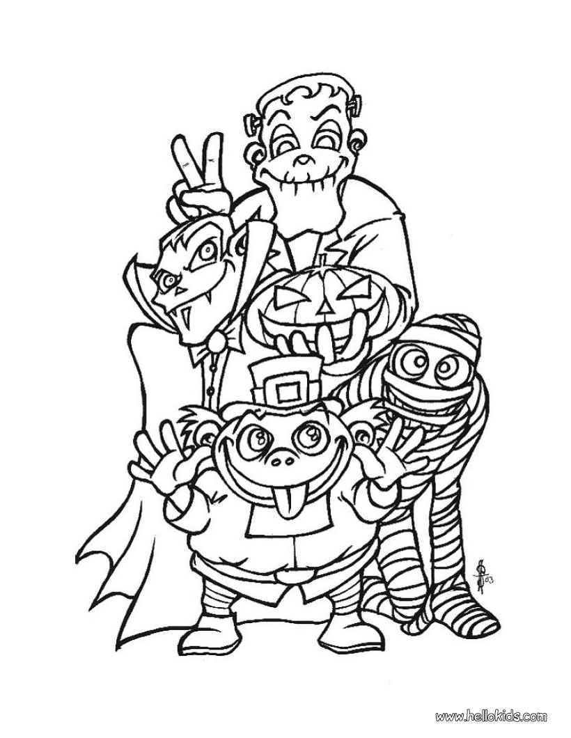 coloring pages halloween scary instant download scary clown halloween spooky coloring scary halloween pages coloring
