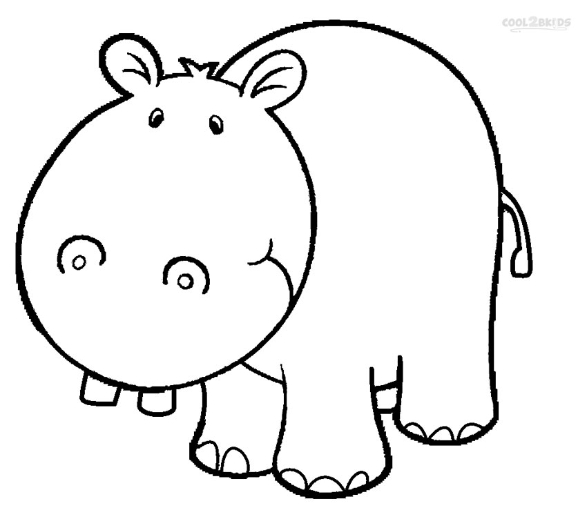 coloring pages hippo hippo coloring pages pages coloring hippo