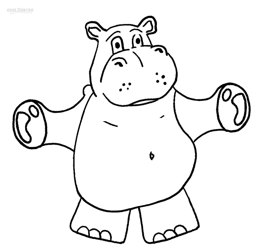 coloring pages hippo hippopotamus coloring pages kidsuki coloring pages hippo
