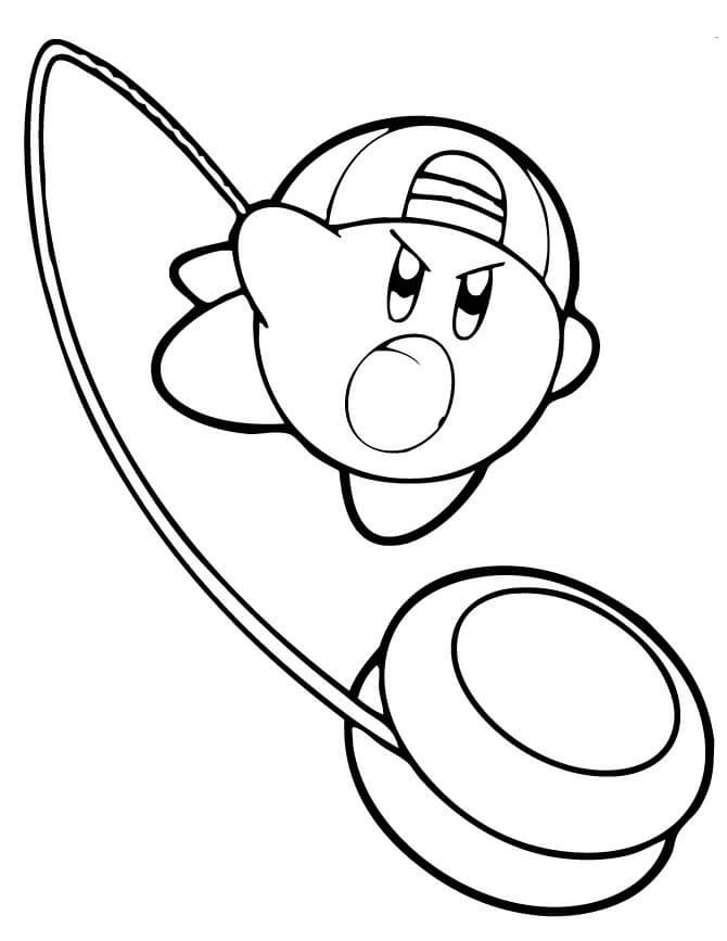 coloring pages kirby kirby coloring page coloring home coloring kirby pages 1 1