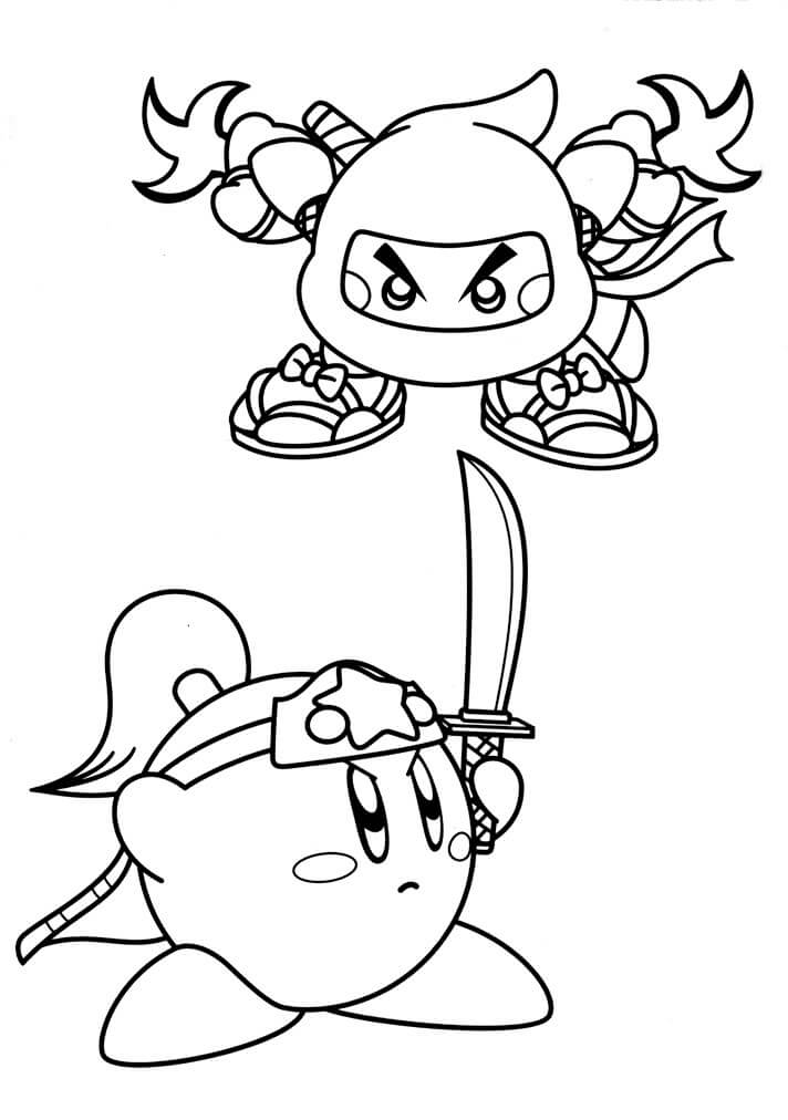 coloring pages kirby kirby coloring pages to download and print for free pages kirby coloring