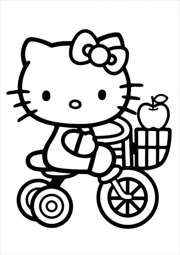 coloring pages kitty cute cat coloring pages to print get coloring pages kitty coloring pages