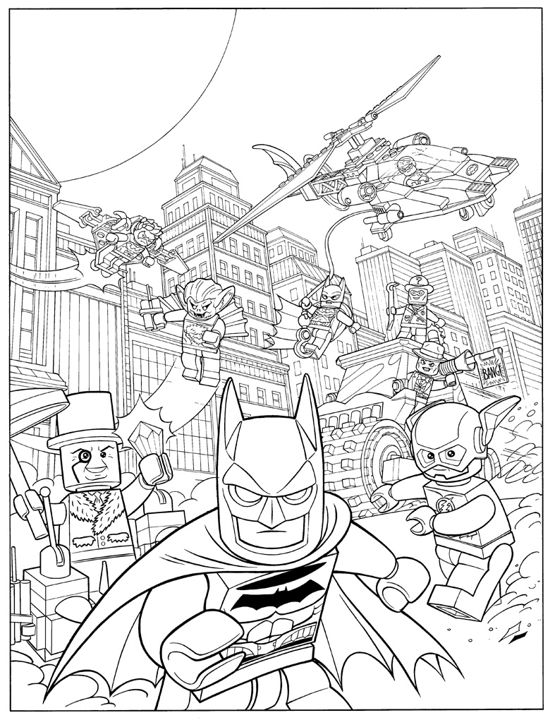 coloring pages lego batman free printable lego coloring pages for kids lego coloring batman pages