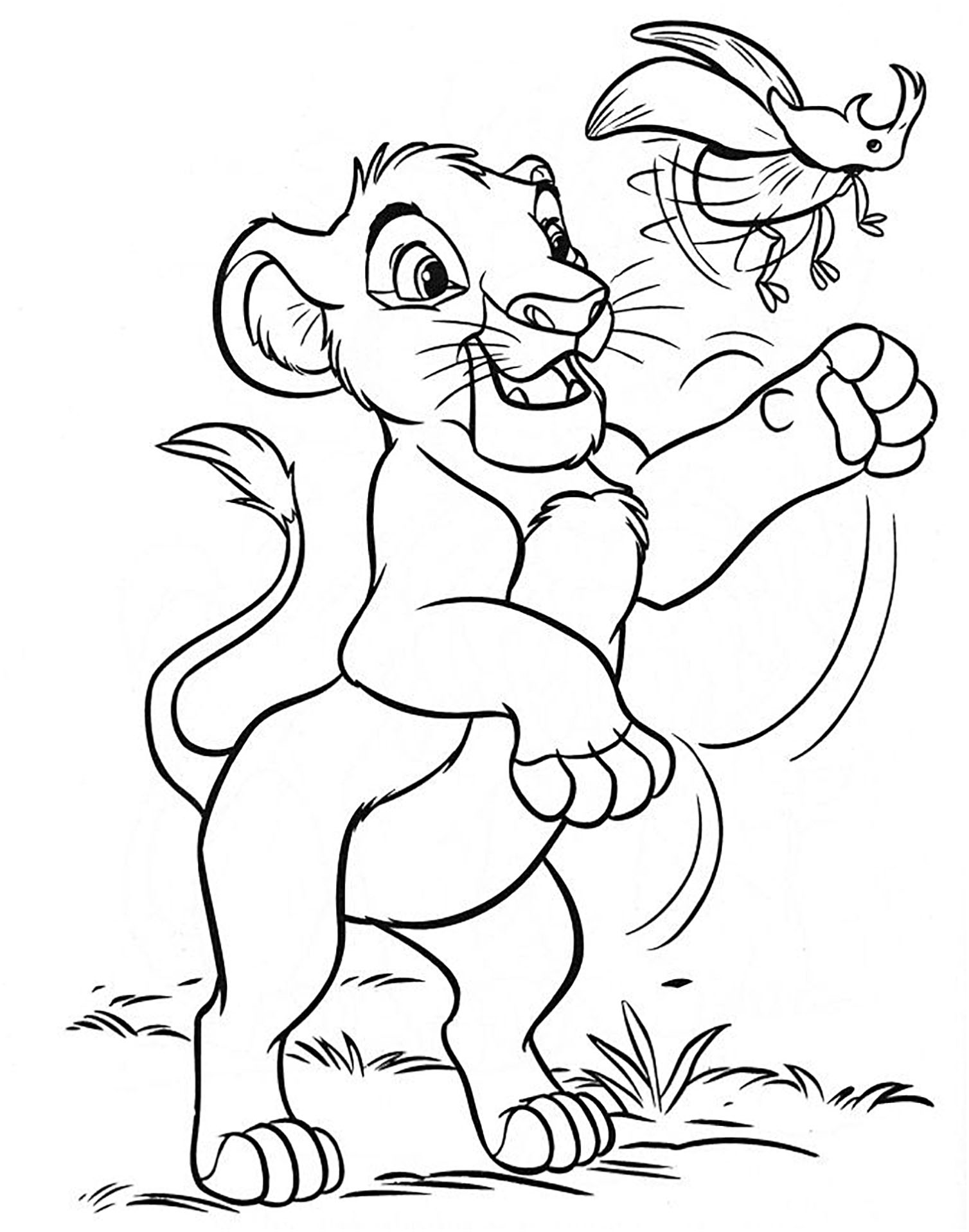 coloring pages lion king the lion king coloring pages 2 disneyclipscom pages lion king coloring