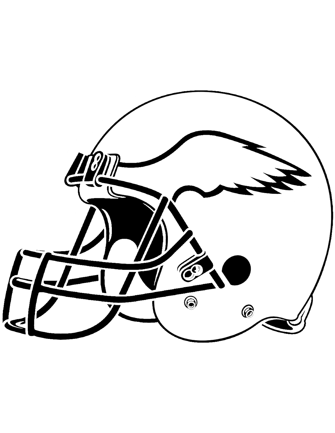 coloring pages nfl nfl coloring pages kidsuki coloring nfl pages