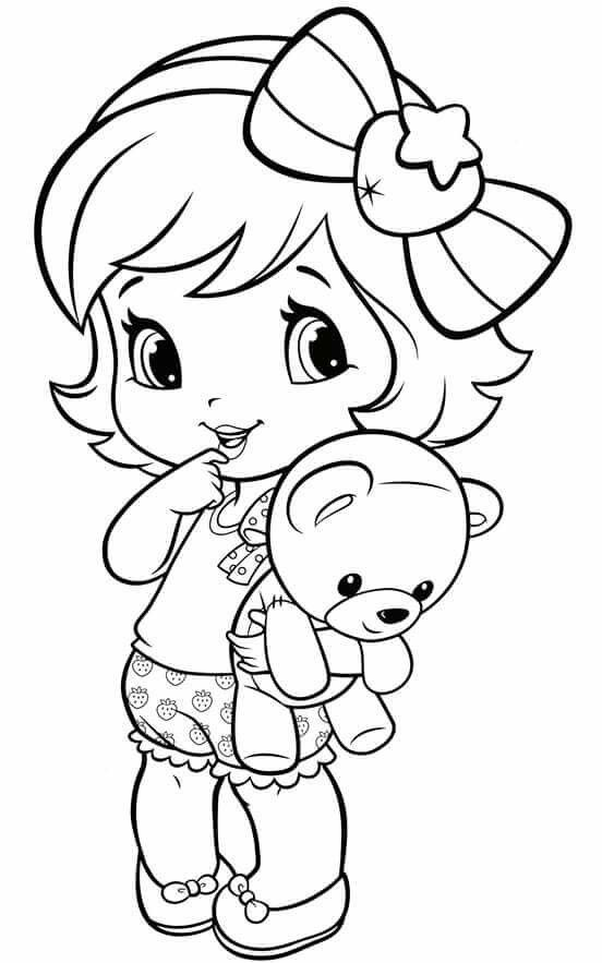 coloring pages of a little girl coloring pages of a little girl at getdrawings free download a coloring little pages of girl