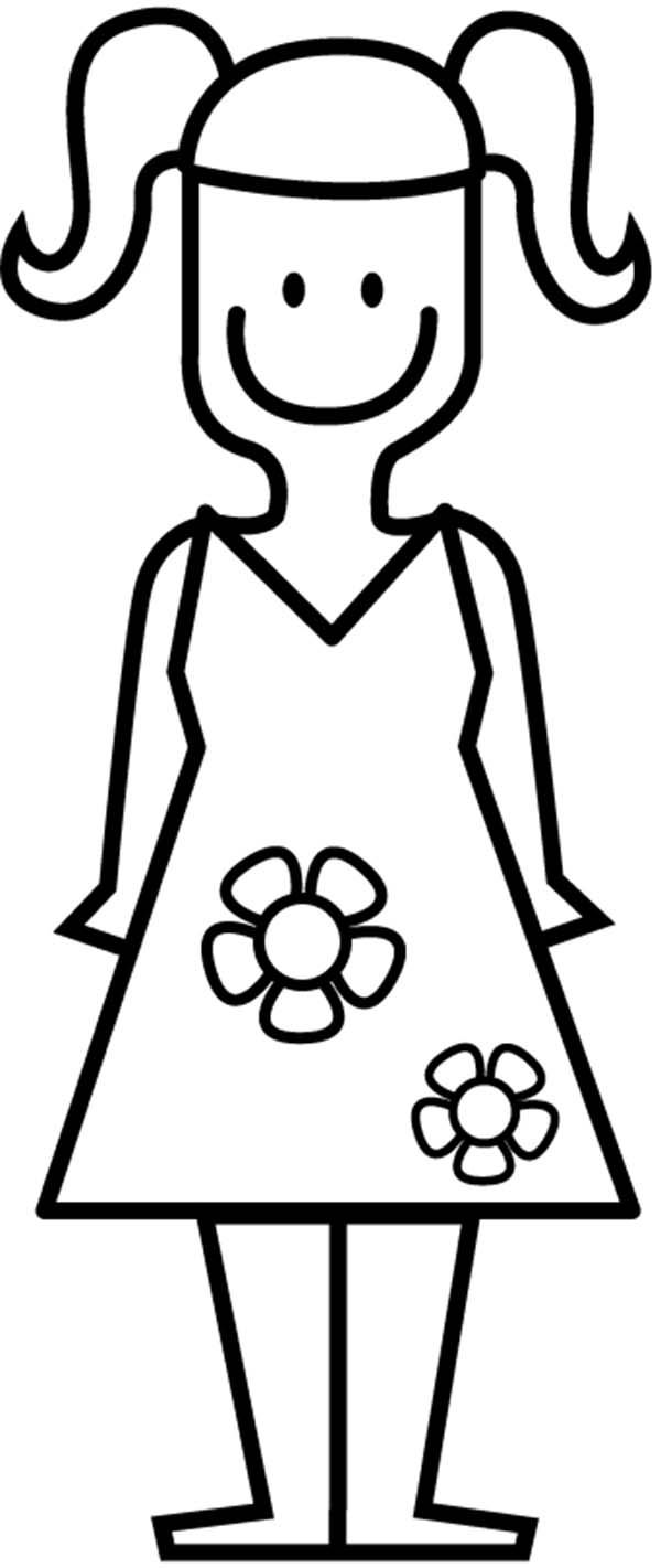 coloring pages of a little girl little girl coloring page free clip art girl of little pages a coloring