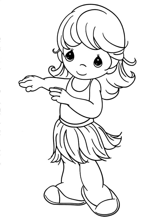 coloring pages of a little girl printable ballerina coloring pages for girls pages little girl of coloring a