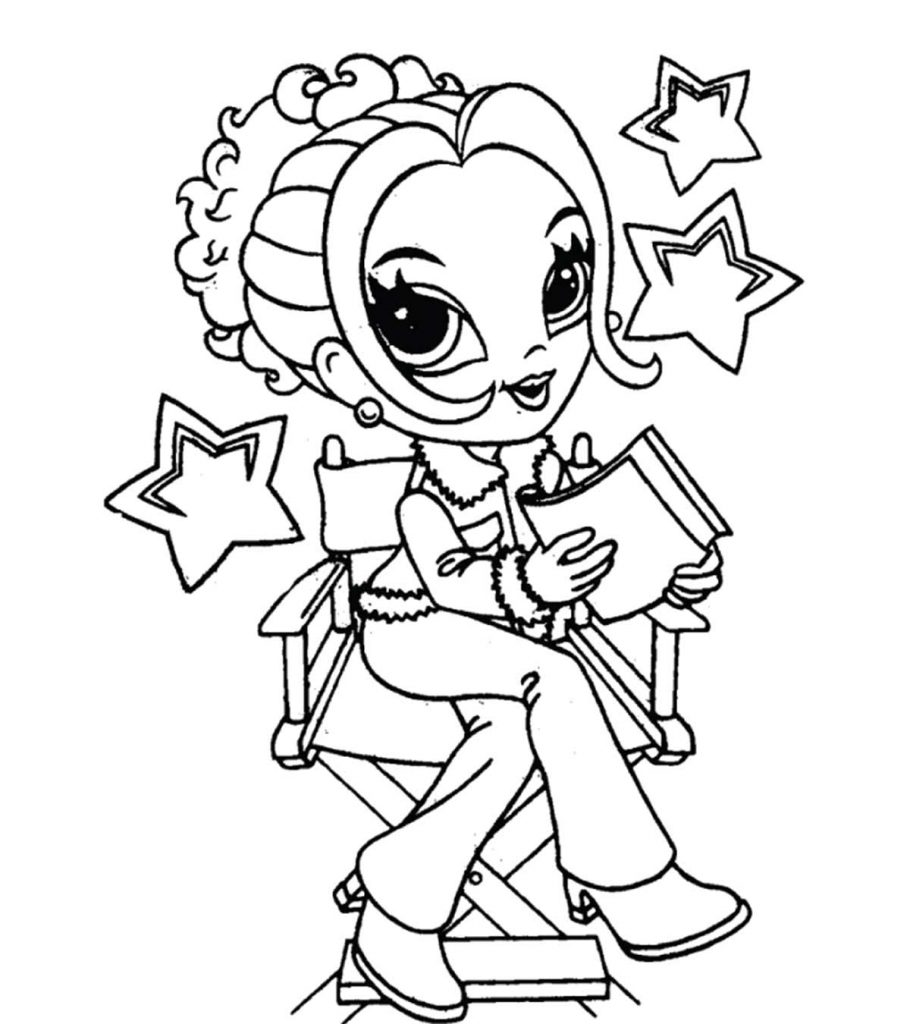 coloring pages of a little girl top 25 free printable lisa frank coloring pages online of coloring a little pages girl