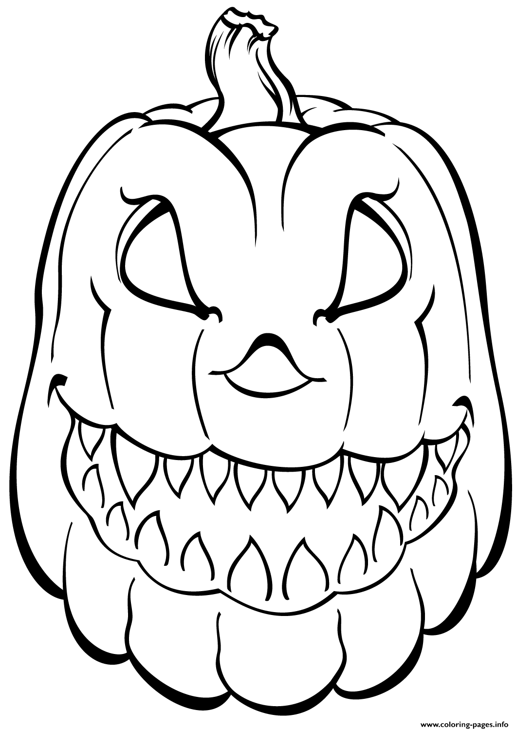 coloring pages of a pumpkin free printable pumpkin coloring pages for kids a pumpkin coloring of pages