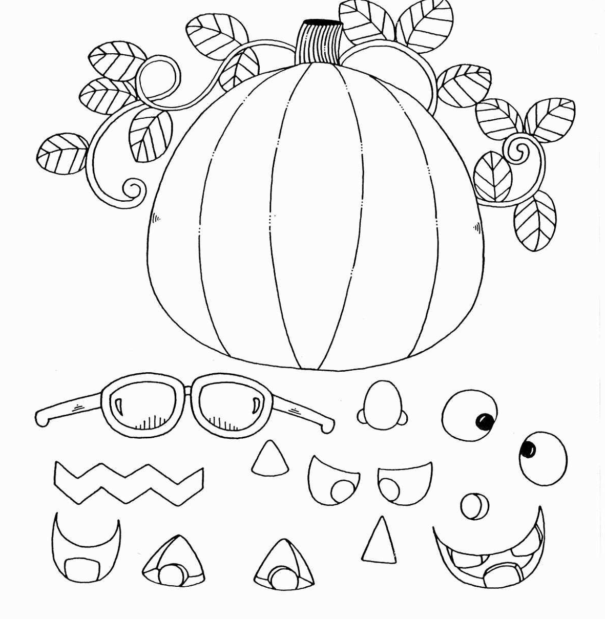 coloring pages of a pumpkin scary pumpkin halloween coloring pages printable a of coloring pages pumpkin