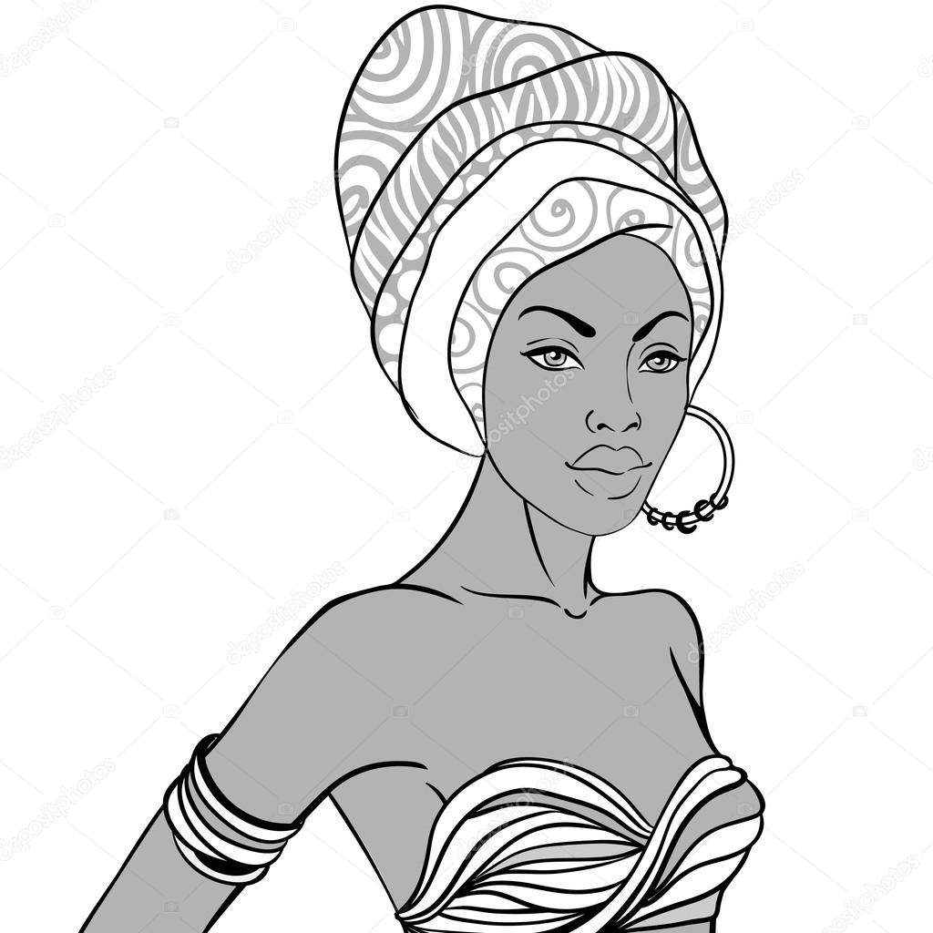 coloring pages of african women 15 best black girl magic to color images on pinterest women coloring african of pages