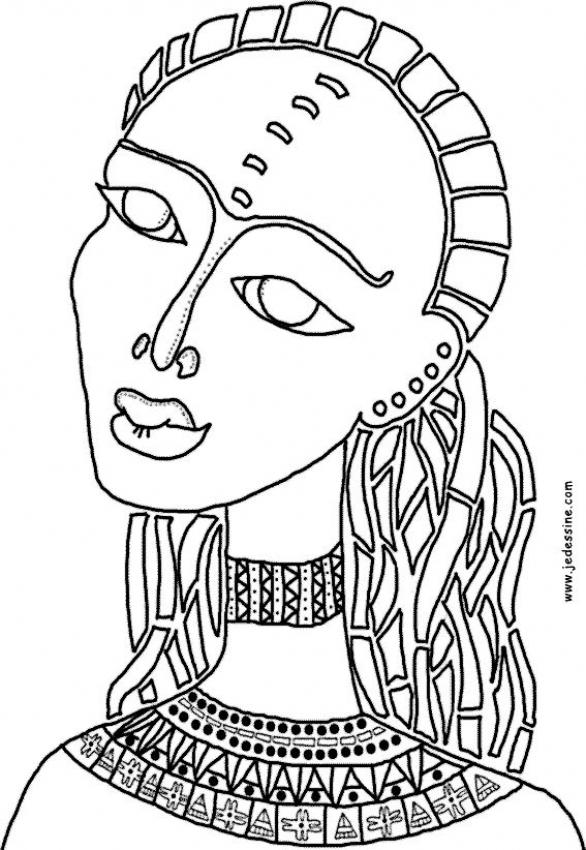 coloring pages of african women african girl coloring pages at getcoloringscom free of women african pages coloring